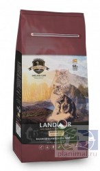Landor Cat Duck&Rice Indoor корм для домашних кошек, утка с рисом, 2 кг