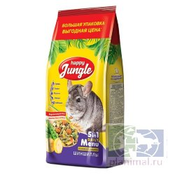Happy Jungle корм для шиншилл, 900 гр.