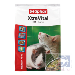 Beaphar: корм для крыс XtraVital Rat Feed, 2,5 кг