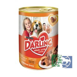 Консервы Purina Darling для собак всех пород, курица и индейка, банка, 1,2 кг