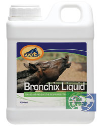Cavalor: Bronchix Liquid, сироп д/лошадей, 1 л.