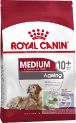 RC Medium Ageing 10+, Корм для собак старше 10 лет, 15 кг