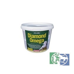 Equimins: Добавка для пищеварения/Diamond Omega - Micronised Linseed Supplement, 2 кг