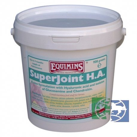 Equimins: Добавка для суставов SuperJoint H.A. Joint Supplement, 454 гр.