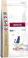 RC Hepatic HF26 диета для кошек при болезнях печени, 2 кг