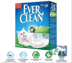 Ever Clean Extra Strong Clumping Scented - комкующийся наполнитель  с ароматизатором  6 л.