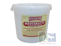 Equimins: Добавка электролит+пробиотик Revitalyte Electro Salt,  4 кг