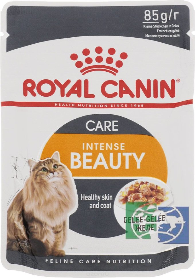 Корм royal canin intense beauty 12